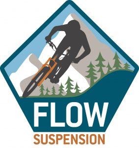 Flow Suspension mountainbike onderhoud logo